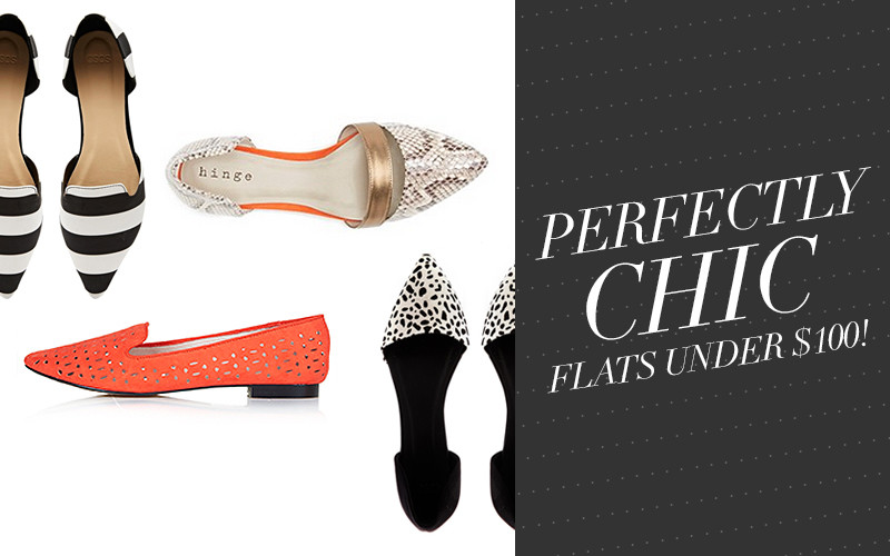 So Fresh & So Chic // Sunday Style Essentials // Perfectly Chic! The Prettiest Flats Under $100 // #sofreshandsochic #fashionblog #lifestyle #flats #chic