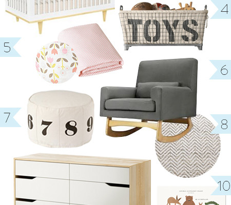 <i>[Petit amour]</i><BR />Designing a Shared Room for a Baby Girl and Toddler Boy | Part 1