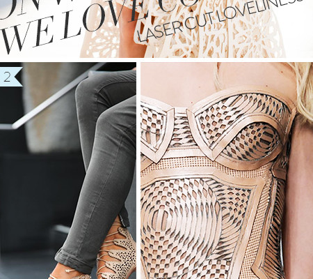 So Fresh & So Chic // On Wednesdays, We Love Couture // Laser Cut Loveliness