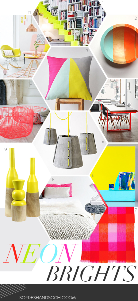 So Fresh & So Chic // THursdays are For the Home // Neon Brights