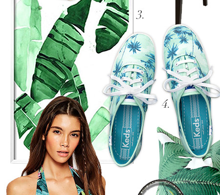 So Fresh & So Chic // Sunday Style Essentials // The Iconic Palm Print