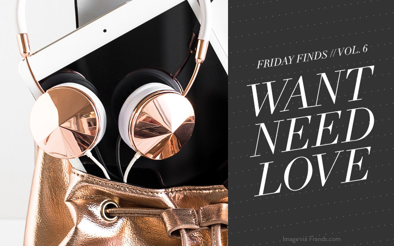 So Fresh & So Chic // Friday Finds: ROSE GOLD LOVE #rosegold #sofreshandsochic #LAblogger