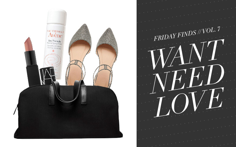 So Fresh & So Chic // #WANTNEEDLOVE Friday Finds // How to Travel in Style