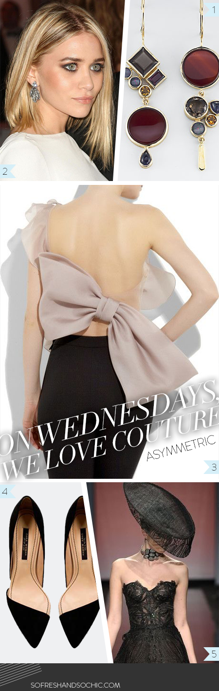 So Fresh & So Chic // On Wednesdays, We Love Couture // Asymmetric Style