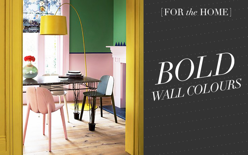 So Fresh & So Chic // Bold and Bright Wall Colours for your home as seen on sofreshandsochic.com