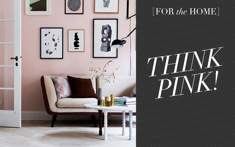 So Fresh & So Chic // Pink walls for your home