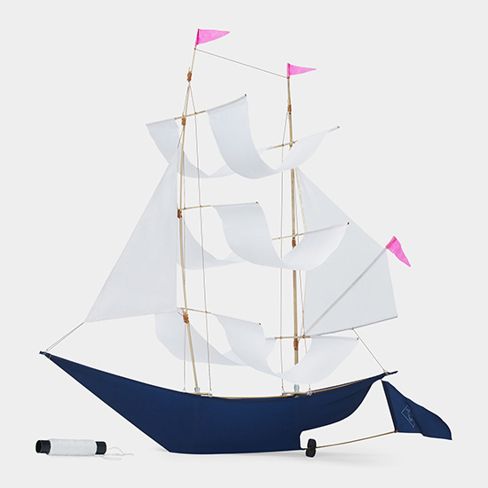 Gorgeous Sailing Ship kite by Emily Fischer via the MOMA store.  // Spotted on Sofreshandsochic.com