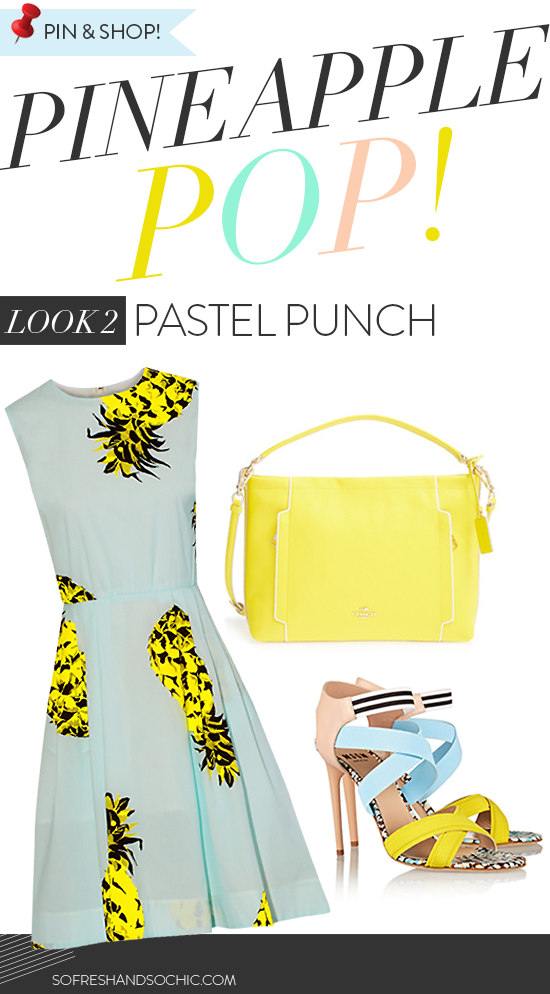 So Fresh & So Chic // Style Essentials: A Fashionable Ode to the Pineapple // Spotted on sofreshandsochic.com #trending #pineapple #patternsandprints
