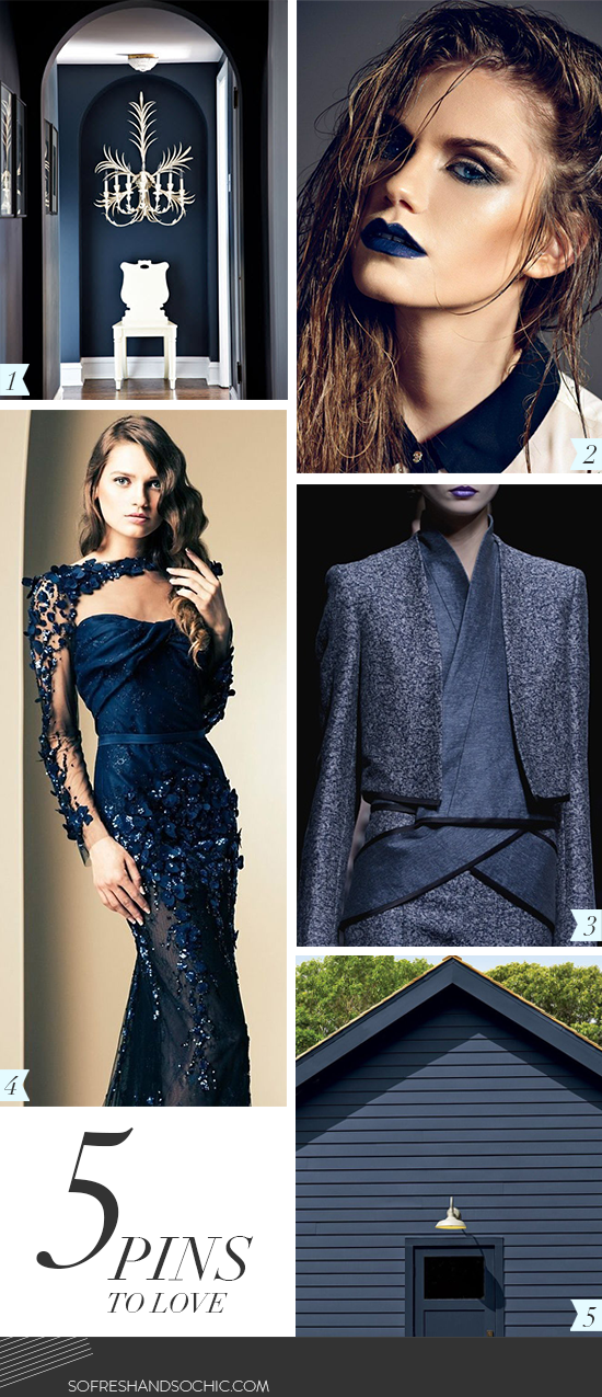So Fresh & So Chic // 5 Pins to Love // Navy Blue #sofreshandsochic www.sofreshandsochic.com