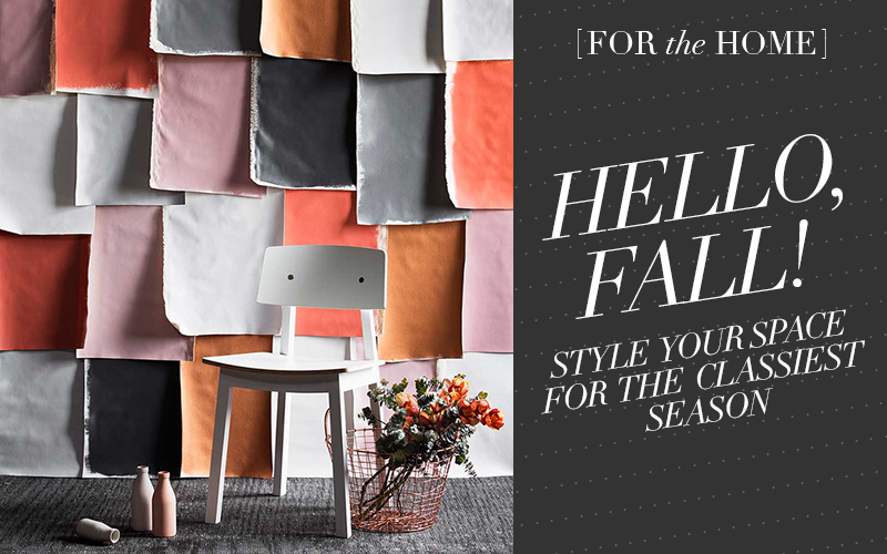How to Decorate Your Home for Fall // So Fresh & So Chic