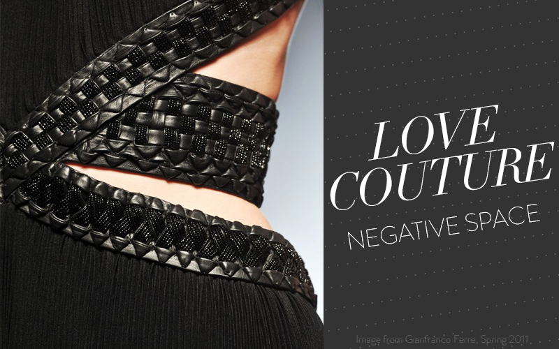 So Fresh & So Chic // Negative Space in Couture Fashion & Beauty // #lovecouture #sofreshandsochic #LAblog