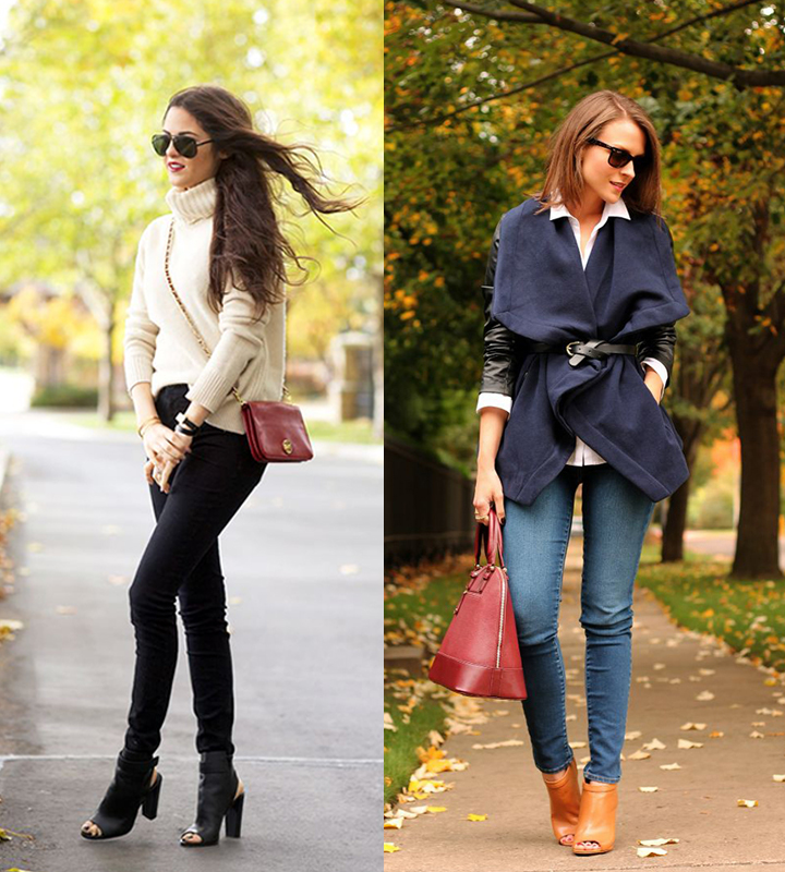 Fall outfit inspiration via Pink Peonies, Glam Radar