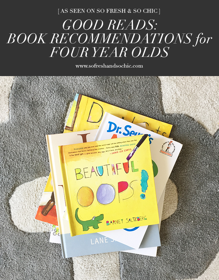 Best Books for Pre-Schoolers (Ages 3-5) #sofreshandsochic #kidsbooks