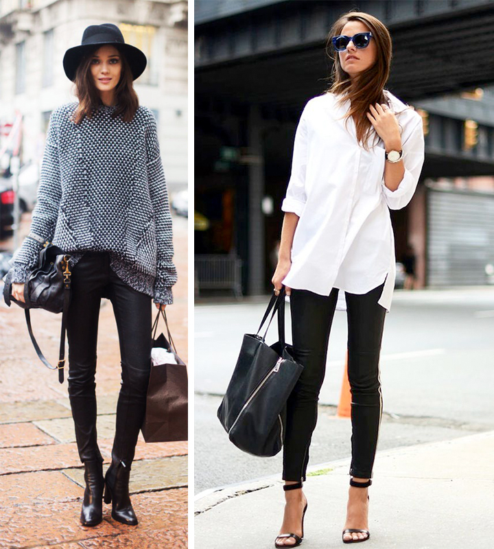 d3e7c9e17f0 Style Essentials] How to Rock an Oversized Top: 4 Simple Rules for ...