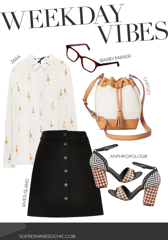 FOLLOW So Fresh & So Chic // Weekday Vibes from Target, ASOS, Anthropologie, Warby Parker and Alexa Chung #sofreshandsochic #fashionblog