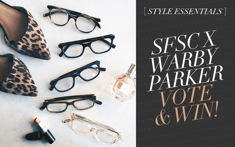 Vote and Be Entered to Win a Beauty Haul from So Fresh & So Chic! #sofreshandsochic #warbyparker #makeup