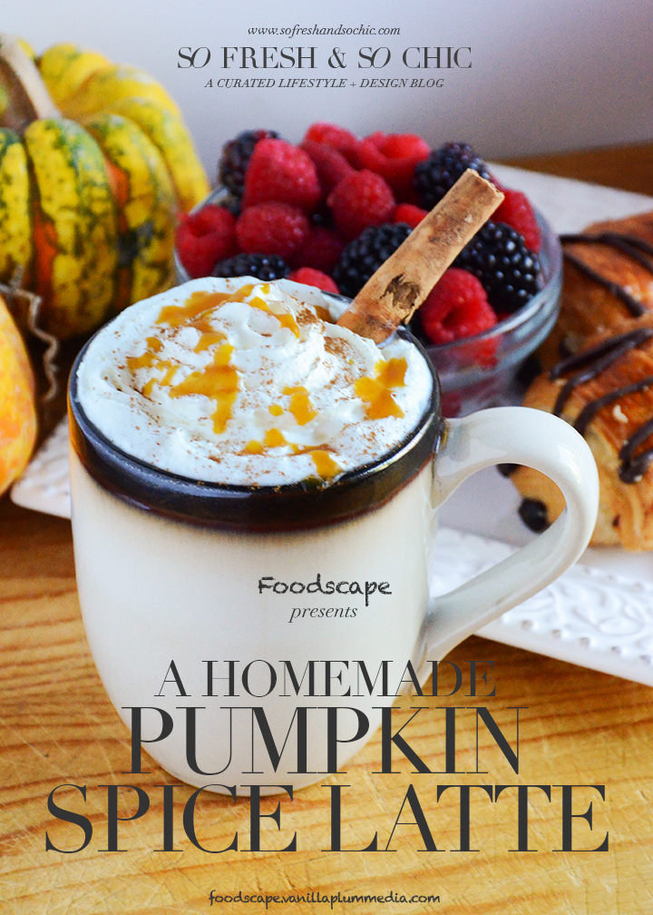 Pumpkin Spice Latte - Dairy free, gluten free, and vegan. Made with real pumpkin and nothing processed.