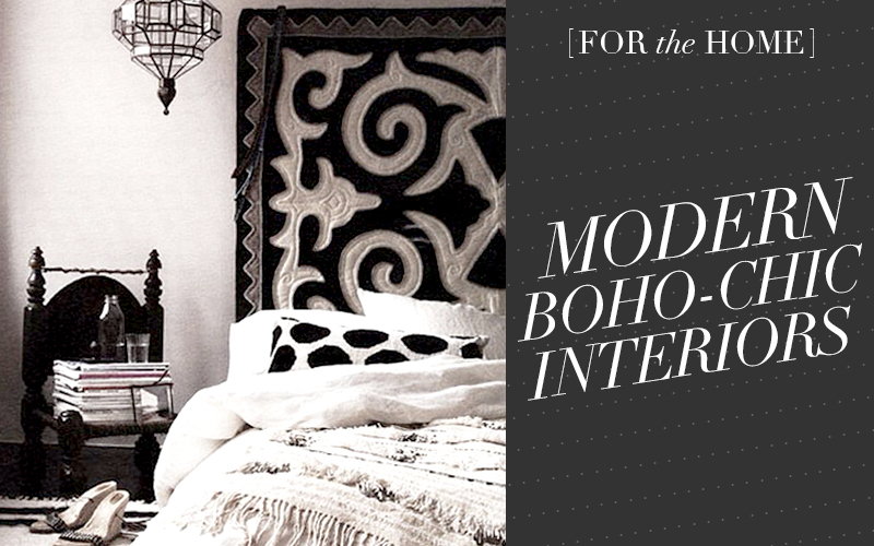 So Fresh & So Chic // 15 Modern Boho-Chic Interiors! #bohemian #bohochic #interiordesign #sofreshandsochic