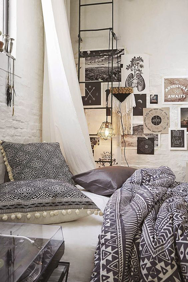 So Fresh Chic 15 Modern Boho Interiors Bohemian