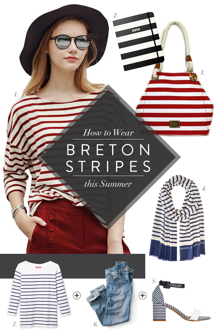 So Fresh & So Chic // Style Essentials: How to Wear Breton Stripes this Summer #sofreshandsochic #nautical #stripes