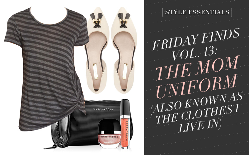 So Fresh & So Chic // Friday Finds Vol 13. WANTNEEDLOVE: The Mom Uniform #capsulewardrobe #sofreshandsochic #fashionblog