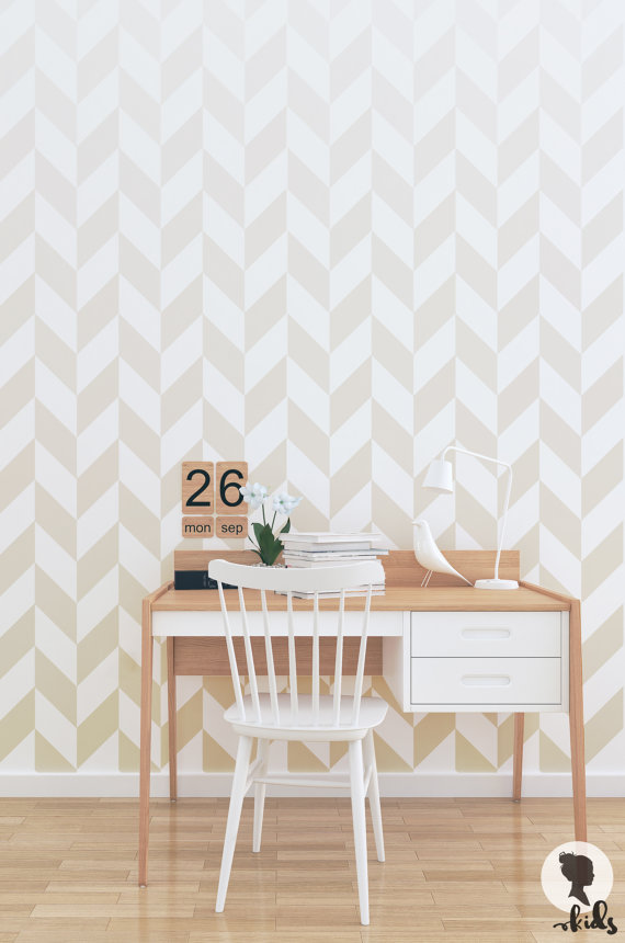 So Fresh & So Chic // The Iconic Herringbone Pattern #herringbone #interiordesign #sofreshandsochic