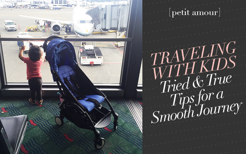 So Fresh & So Chic // Traveling with Kids: Tips & Tricks for a Smoother Journey PLUS a Review of the Babyzen Yoyo+ Stroller #babyzen #stroller #travel #kids #sofreshandsochic