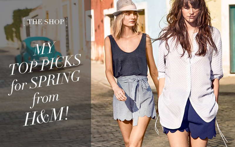 The Shop at So Fresh & So Chic // My Top Picks for Spring from H&M!
