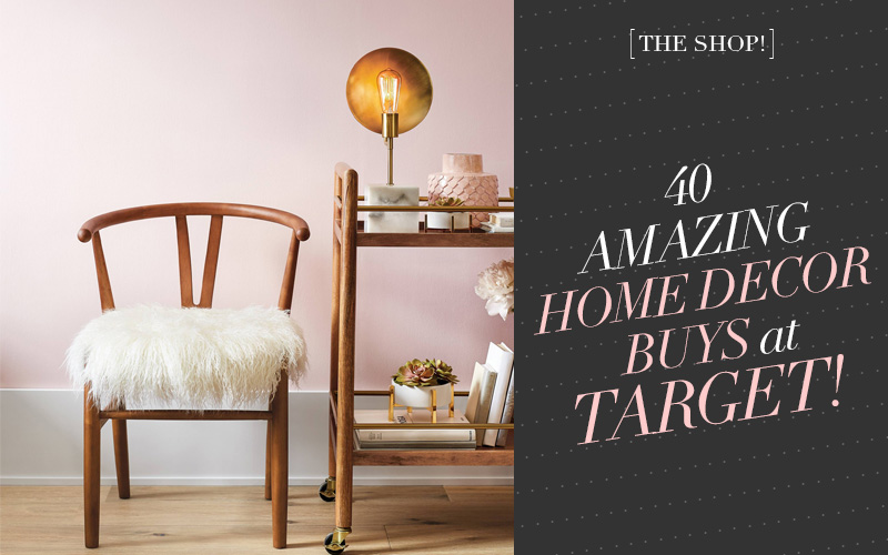 The Shop at So Fresh & So Chic! Must-Have Home Decor from Target! #sofreshandsochic #homedecor #target