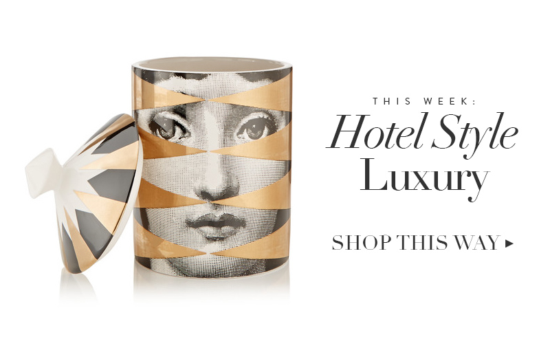 <i>[The Shop at So Fresh &#038; So Chic]</i><br/> Hotel Style For Your Bedroom