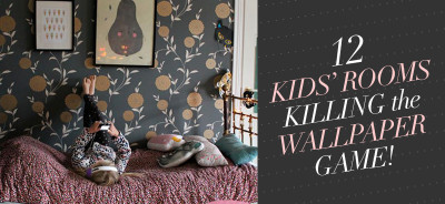 So Fresh & So Chic: 12 Kids' Rooms Killing the Wallpaper Game!! #inspiration #homedecor #kidsrooms #sofreshandsochic