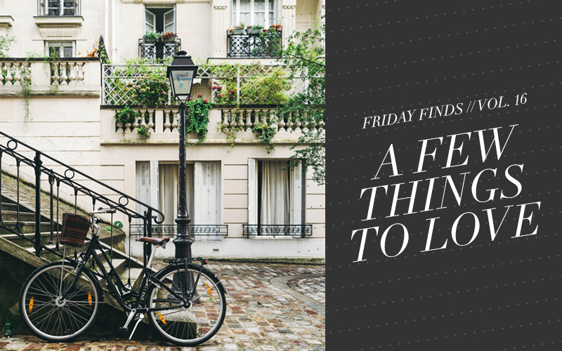 <i>[Friday Finds] Vol. 16:</i><br/> This Week: Parisian Inspired Finds!