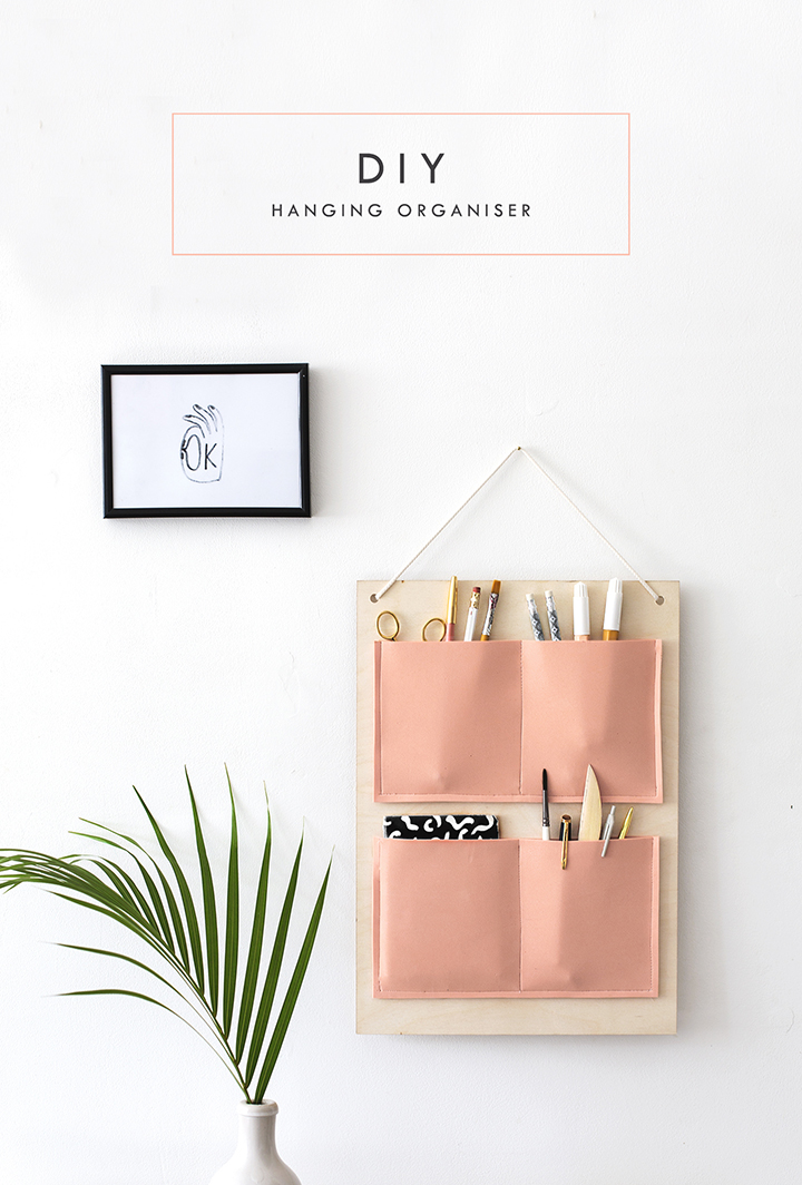 Friday Finds Vol. 20: A DIY Hanging Organizer with The Lovely Drawer!