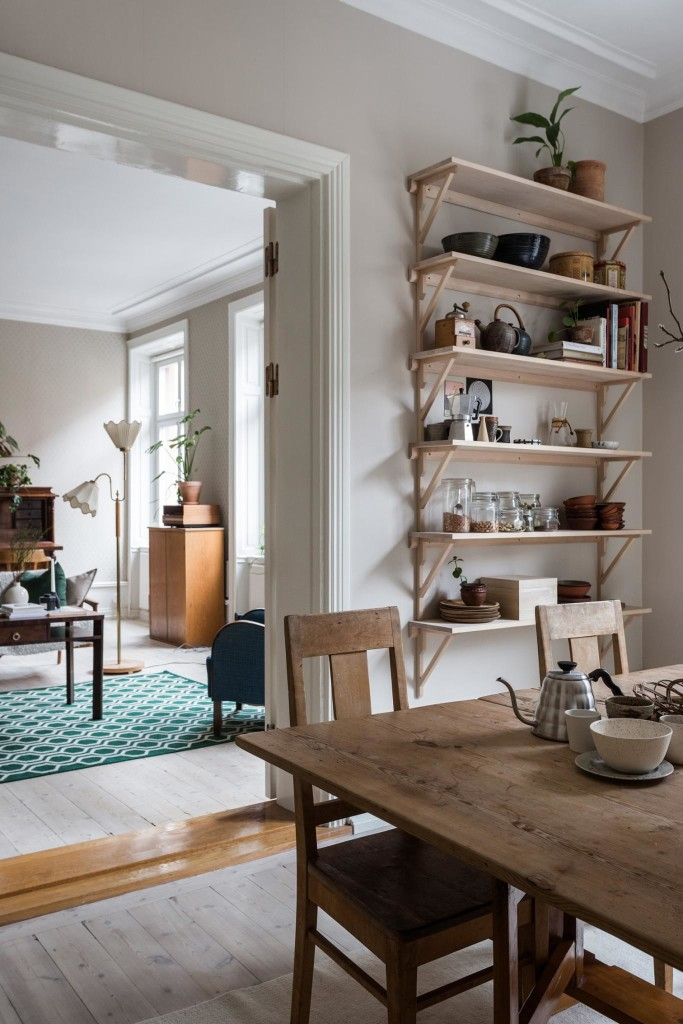 So Fresh & So Chic // Home Tour: A Colourful Mid-Century Apartment in Stockholm via Fantastic Frank