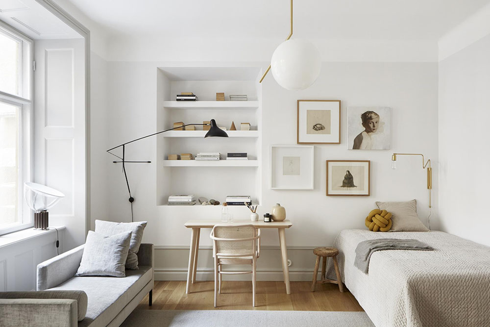 House Tours A Bright And Minimalist Studio In Stockholm So Fresh
