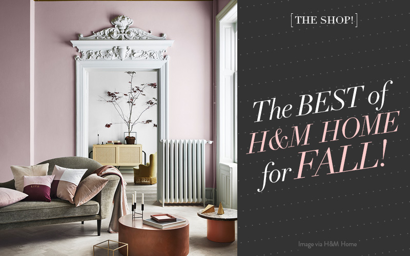 The Shop at So Fresh and So Chic // My top picks of the best of H&M Home for Fall!