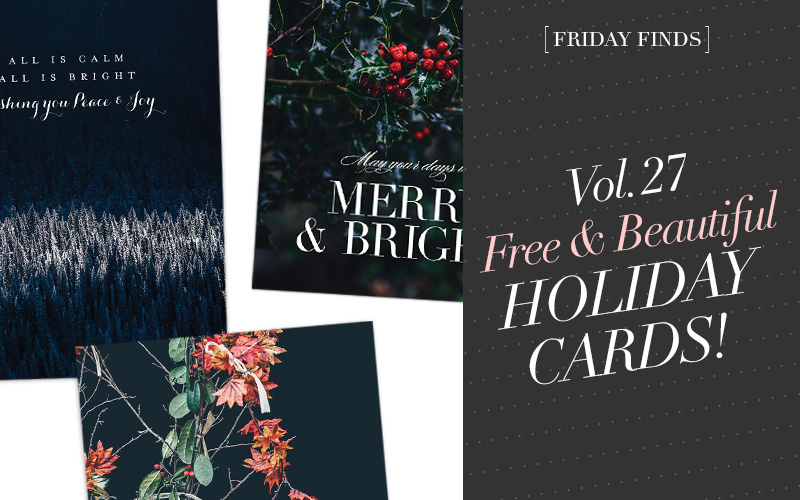 So Fresh and So Chic // Friday Finds Vol. 27: Free and Beautiful Holiday Cards, A Victorian Terrace Remodel, An Etsy Gift Guide for Sisters and BFFs, A Guide to Planning the Holiday Season, and How to Style a Gallery Wall! #sofreshandsochic #fridayfinds