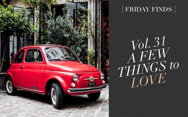 <i>[Friday Finds Vol. 31]</i><br/> Instagrammable Paris, Modern Wedding Invitations, Current Loves from H&M Home, Dark Green Interiors, & 5 Free Printables!