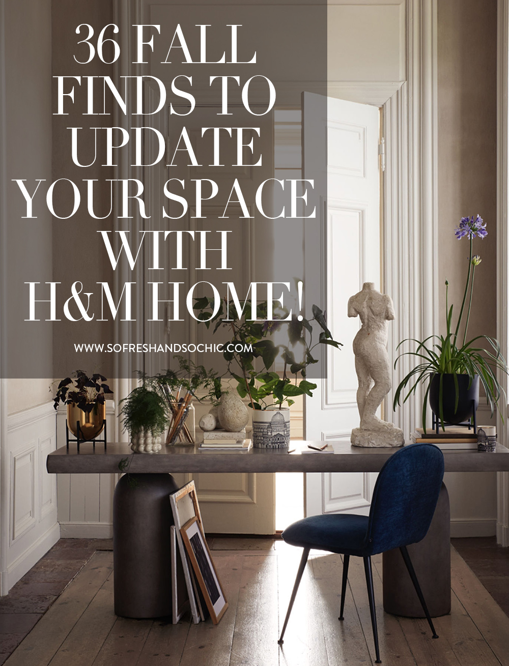 The Best of H&M Home This Fall! #homedecor #interiordesign #h&mhome
