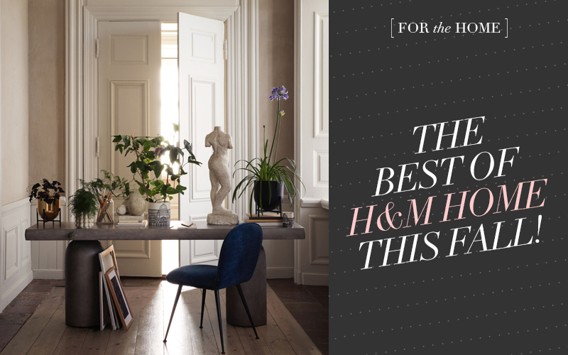 So Fresh & So Chic // The Best of H&M Home This Fall! #homedecor #interiordesign #h&mhome