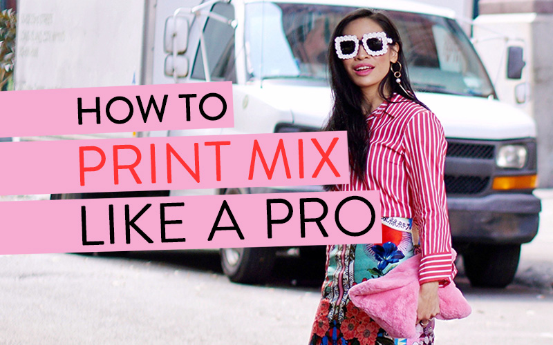 A Few Thoughts On Mixing Prints Like a Pro!