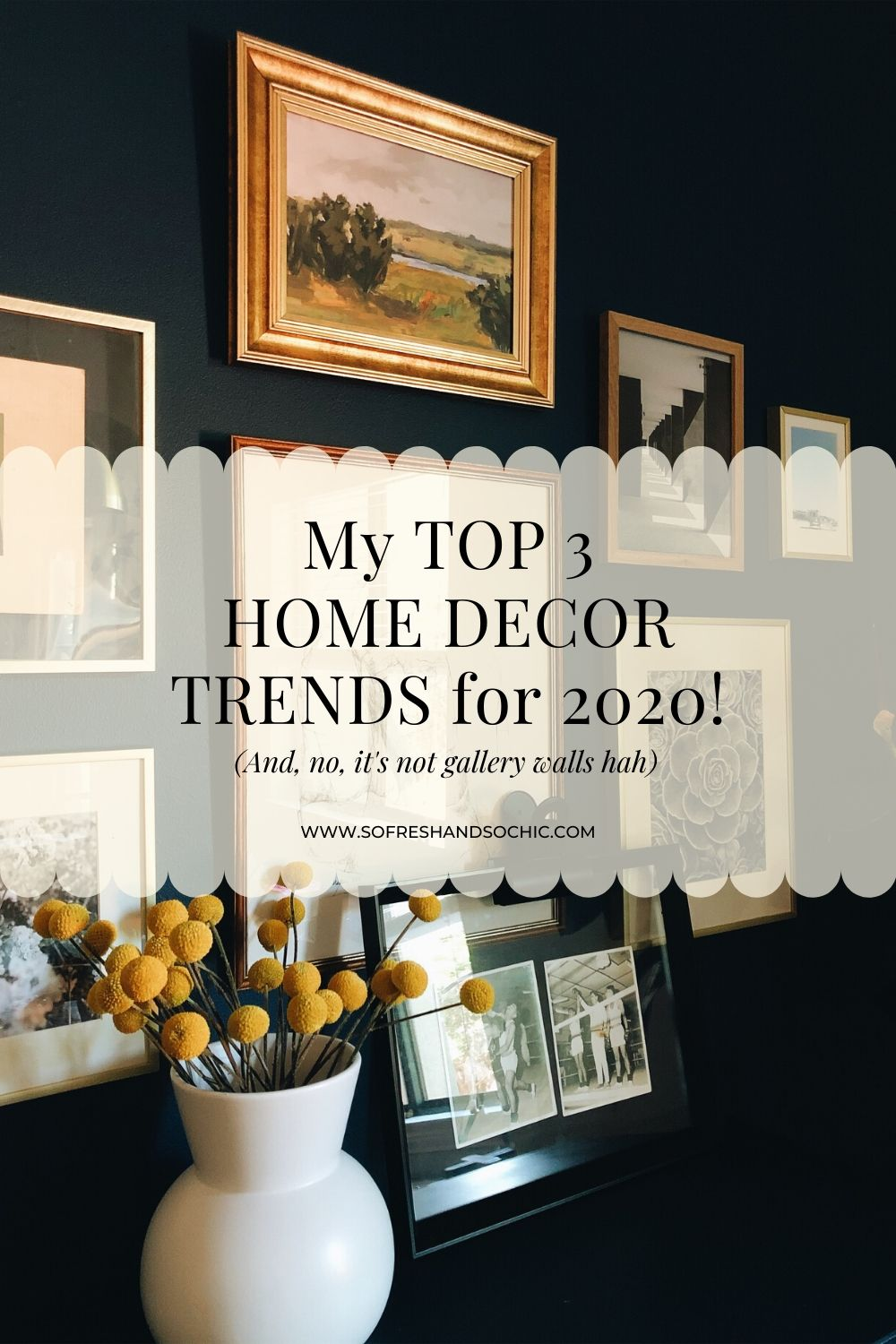My Top 3 Home Decor Trends for 2020! // So Fresh and So Chic