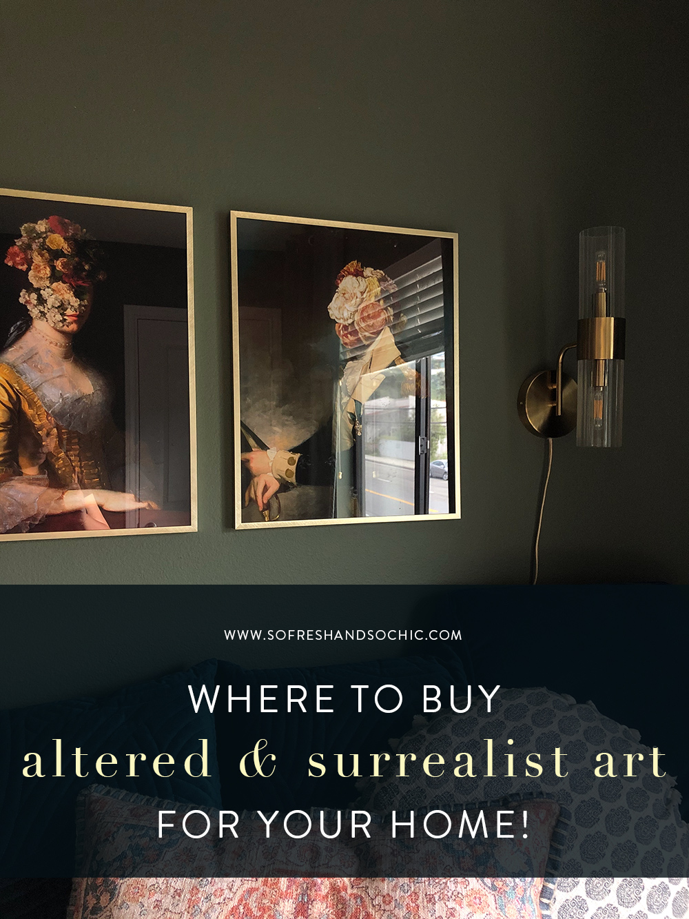 Where to Buy Altered and Surrealist Art // So Fresh and So Chic