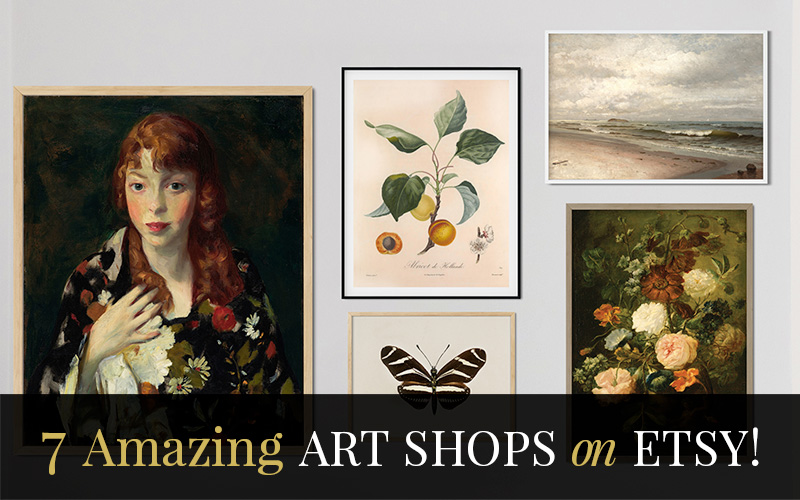 7 Amazing Etsy Art Shops!