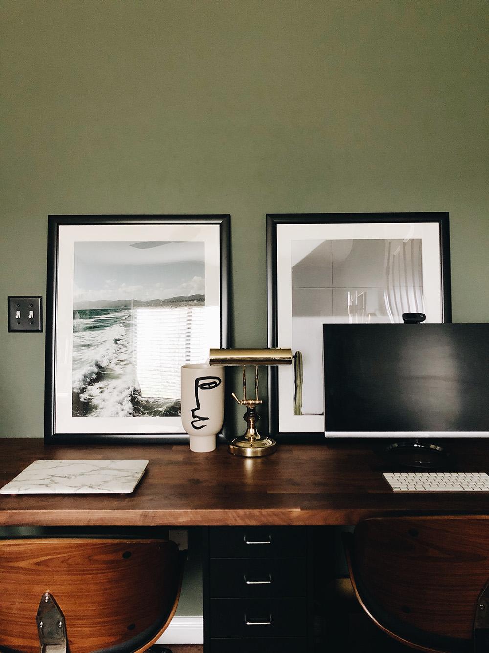 A DIY Ikea Butcher Block Countertop Desk